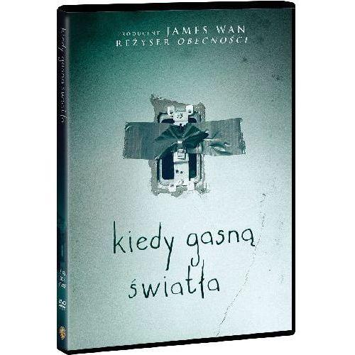 Kiedy gasną światła (DVD) - David F. Sandberg OD 24,99zł DARMOWA DOSTAWA KIOSK RUCHU (7321909343634)