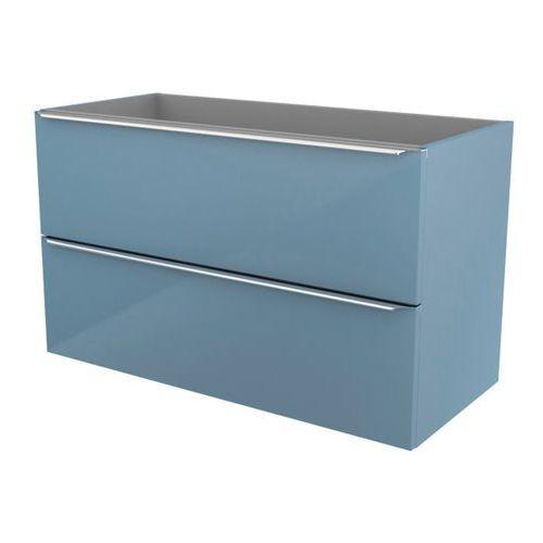 Szafka pod umywalkę Cooke&Lewis Imandra wisząca 100 cm niebieska (3663602932895)