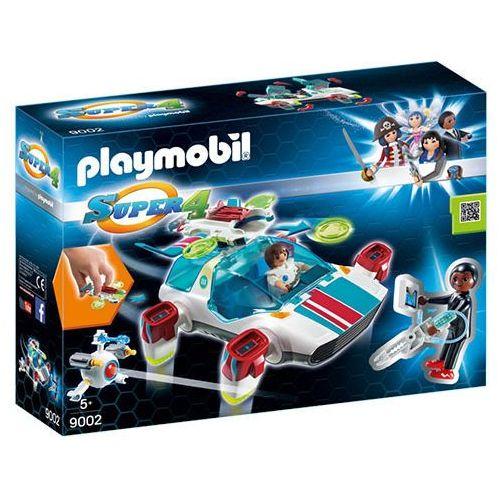 Playmobil SUPER 4 Fulgurix i agent gene 9002
