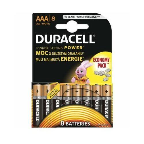 Duracell Bateria basic lr03/aaa (8 szt.)