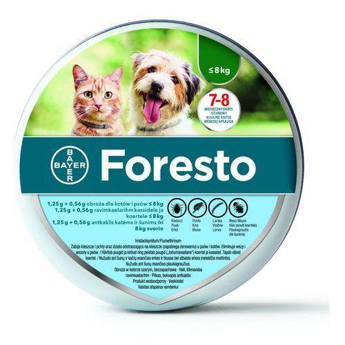 Bayer foresto obroża mała 38cm + drontal plus flavour dla psów 2 tab