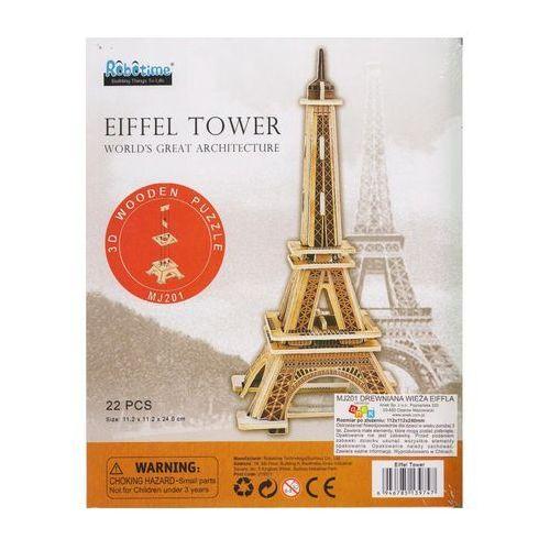 Puzzle 3D Drewniana Wieża Eiffla (6946785139747)