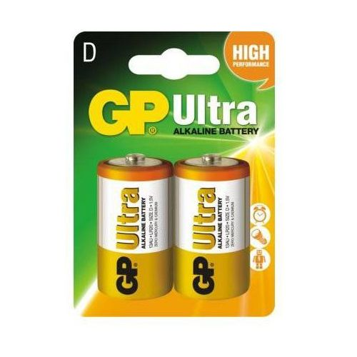 baterie alkaliczne lr20/d 2 szt marki Gp