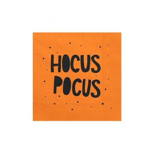 Serwetki hocus pocus - 33 cm - 20 szt. marki Party deco