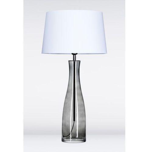 4concepts Lampa oprawa stołowa amsterdam anthracite 1x60w e27 biały l211174228