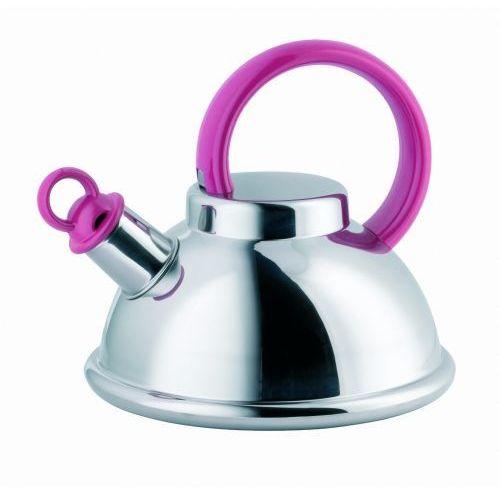 Schulte-ufer czajnik stalowy orion i pink 20cm