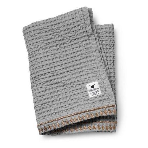 Kocyk z bawełny organicznej ELODIE DETAILS - Gilded Grey 7350041673002