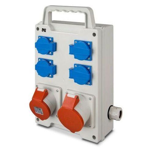 elektro-plast nasielsk Rozdzielnica siłowa rs przenośna 4x230v 1x16a/5p 1x32a/5p 6214-00 elektro-plast (5901130489022)