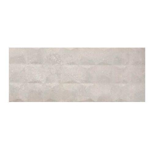 Glazura Indiana Arte 9,8 x 74,8 cm szara 1,34 m2 (5903238056564)