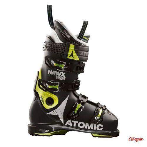 Buty narciarskie Atomic Hawx Ultra 120 Black/Lime 2017/2018