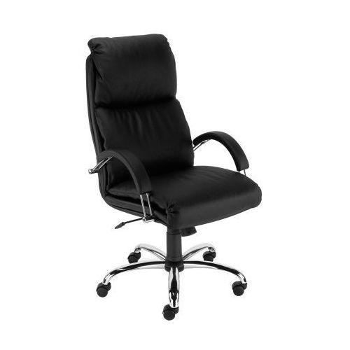 Fotel biurowy nadir steel02 chrome z mechanizmem tilt marki Nowy styl