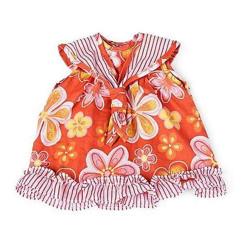 f39c0c5f6c Ubranka dla lalek - pomarańczowa sukienk.