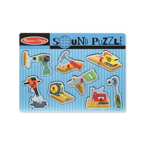 MELISSA & DOUG Puzzle dźwiękowe. Układanka narzędzia. (0000772107334)
