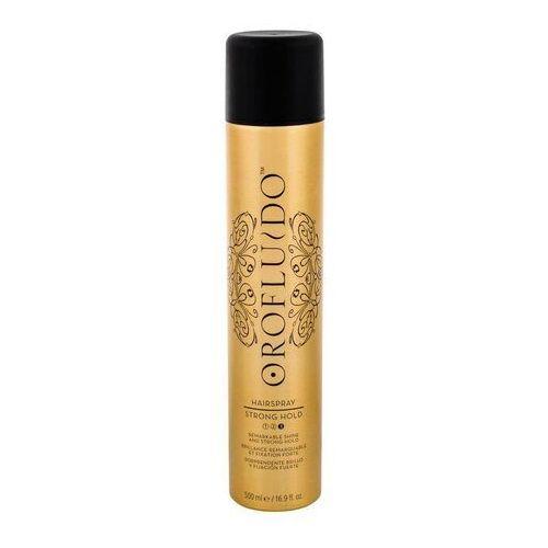 OROFLUIDO Hairspray lakier do włosów Strong Hold 500ml