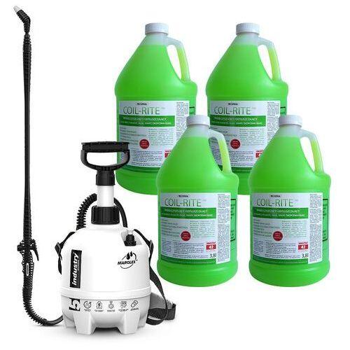 Rectorseal Środek do czyszczenia parowników klimatyzatorów i urządzeń chłodniczych coil-rite. zestaw ze spryskiwaczem.