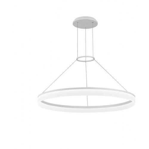 Leds-C4 Circ Lampa wisząca Biały, 1-punktowy - Nowoczesny - Obszar wewnętrzny - Circ - Czas dostawy: od 2-3 tygodni