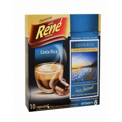 Rene Kawa palona mielona costa rica espresso 50 g (10 kapsułek)