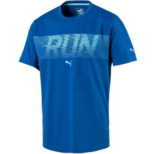 Puma koszulka sportowa run ss tee lapis blue heather xl