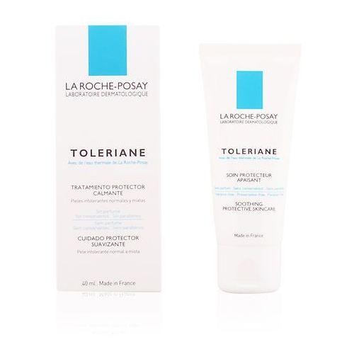 La roche-posay  toleriane toleriane emulsja nawilżająco-kojąca dla skóry alergicznej (soothing protective skincare) 40 ml (3433422405295)