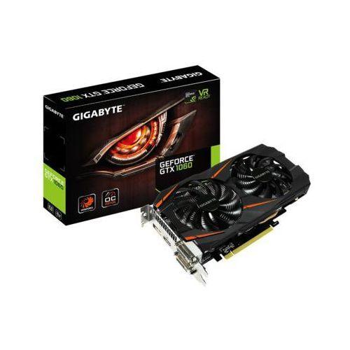 Gigabyte GeForce CUDA GTX1060 WF OC 3GB DDR5 192BIT 2DVI/HDMI/DP - DARMOWA DOSTAWA!!! (karta graficzna)