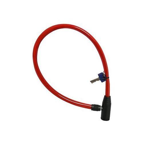 Zapięcie, linka Shimano OXC Hoop, 12mm x 600mm czerwone
