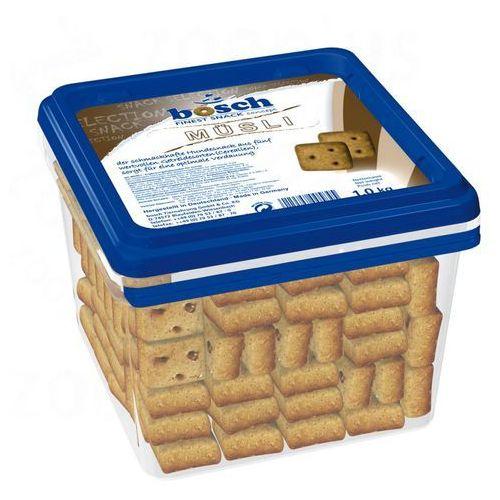 Bosch finest snack concept Bosch musli, ciasteczka dla psa - 1 kg (4015598006248)