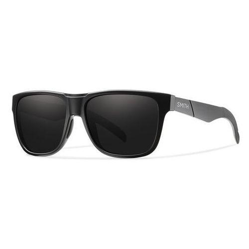 SMITH - Lowdown/N Matt Black Black (DL5-563G) rozmiar: OS, kolor czarny
