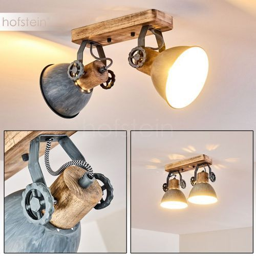 Orny lampa sufitowa siwy, 2-punktowe - vintage - obszar wewnętrzny - orny - czas dostawy: od 2-3 tygodni marki Hofstein