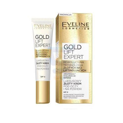 OKAZJA - Eveline Gold Lift Expert Luksusowy złoty krem pod oczy i na powieki 15 ml