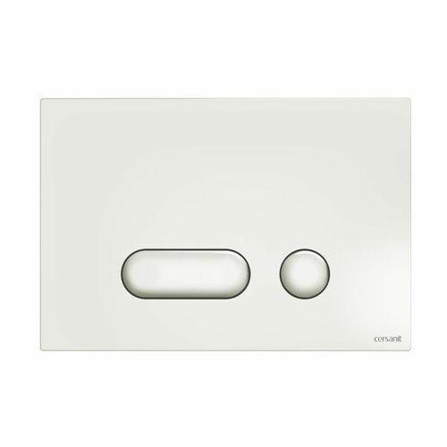 CERSANIT Intera przycisk spłukujący do WC, kolor BIAŁY S97-019