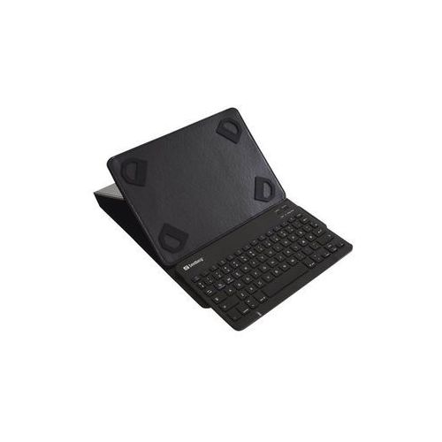 bluetooth keyboard case - keyboard and folio case - denmark - etui z klawiaturą - czarny marki Sandberg