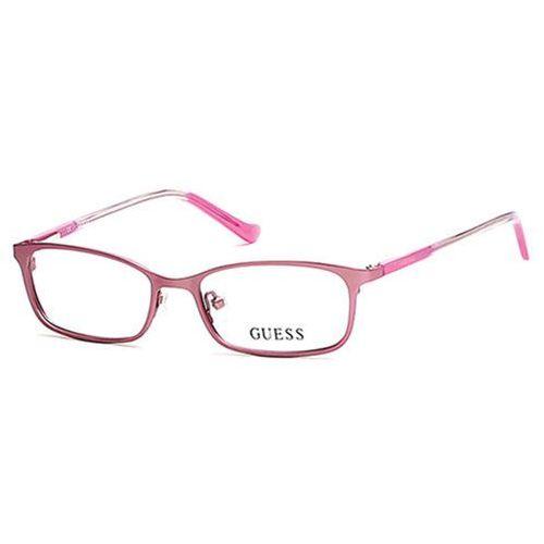 Okulary korekcyjne  gu 9155 kids 073 marki Guess