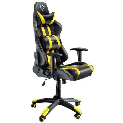 Fotel chairs x-one czarno-żółty + zamów z dostawą jutro! marki Diablo