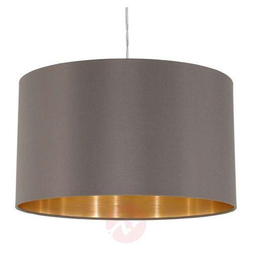 Eglo 31603 - Lampa wisząca MASERLO 1xE27/60W/230V (9002759316037)