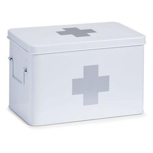 Zeller Metalowa apteczka, pudełko medyczne, 32x20x20 cm, (4003368181196)