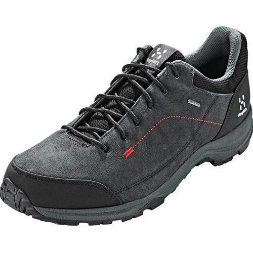 Haglöfs krusa gt buty mężczyźni szary/czarny uk 10,5 | eu 45 1/3 2019 buty turystyczne