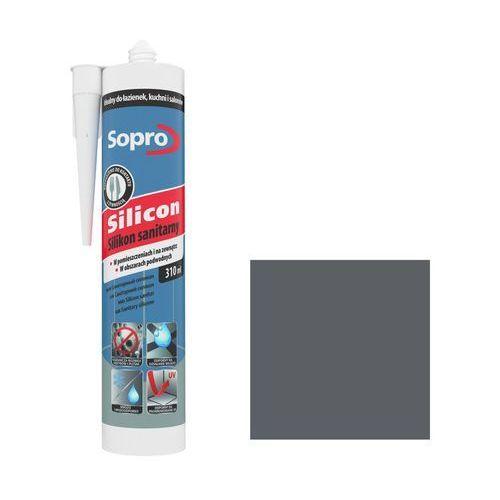 Silikon sanitarny Sopro 310 ml beton szary 14 (4005734038714)
