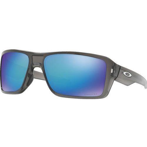 Oakley Double Edge Okulary rowerowe niebieski/czarny 2018 Okulary przeciwsłoneczne
