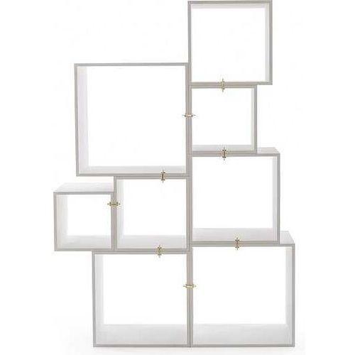 Seletti Regał modułowy assemblage biały (8008215149110)
