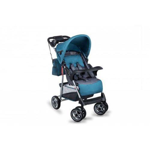 Wózek spacerowy Emma Plus turquoise/grey - DARMOWA DOSTAWA!!!. Najniższe ceny, najlepsze promocje w sklepach, opinie.