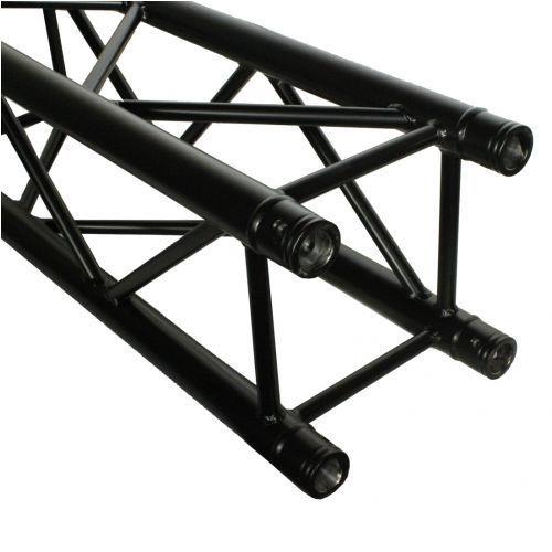 Duratruss dt 34/2-100 straight czarny element konstrukcji aluminiowej 100cm