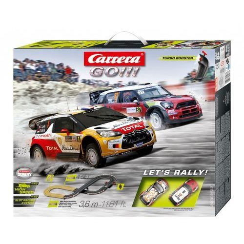 GO!!! Let's Rally! - Carrera. DARMOWA DOSTAWA DO KIOSKU RUCHU OD 24,99ZŁ (4007486624337)
