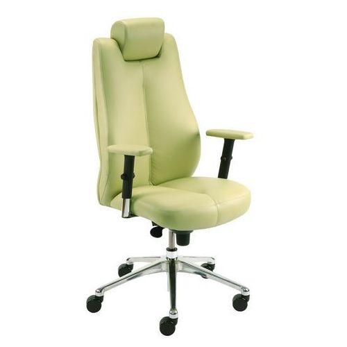 Fotel gabinetowy SONATA LUX HRUA synchro R15 steel28 chrome, Nowy Styl