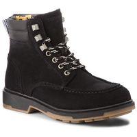 Kozaki - casual outdoor lace em0em00171 black 990, Tommy jeans, 40-46