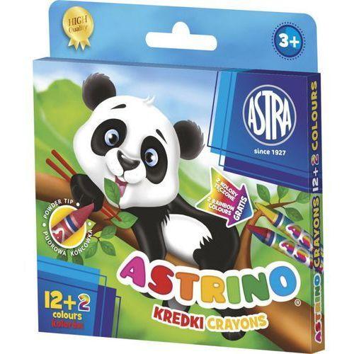 Kredki świecowe astrino 316115001 14kol. marki Astra