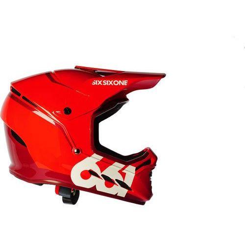 Sixsixone reset kask rowerowy czerwony xl | 62-63cm 2018 kaski rowerowe