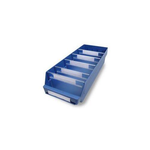 Skrzynka regałowa z wysokiej jakości, odpornego polipropylenu,niebieska
