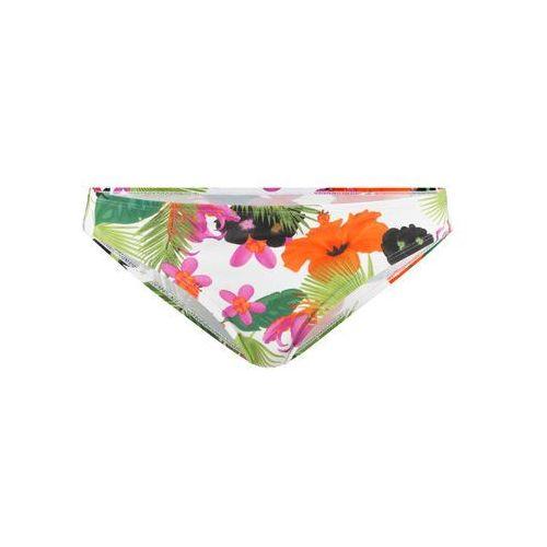 Bonprix Figi bikini biały z nadrukiem