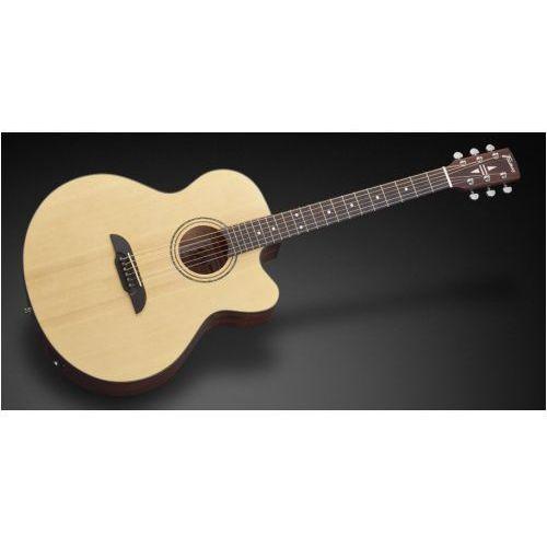 Framus FJ 14 SV - Vintage Transparent Satin Natural Tinted + EQ gitara elektroakustyczna