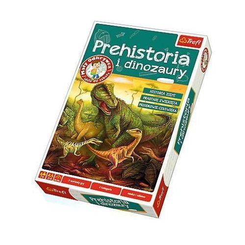 Trefl Mały odkrywca... - prehistoria i dinozaury